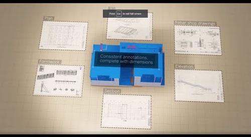 The 3D BIM Software for Concrete Construction: Tekla Structures in 5mins