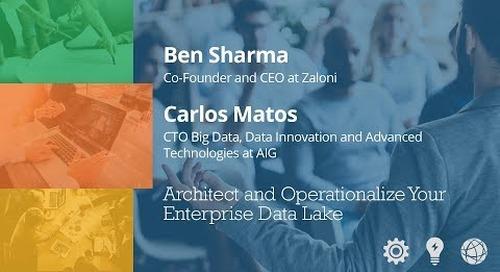 Architect & Operationalize your Enterprise Data Lake - Ben Sharma & Carlos Matos