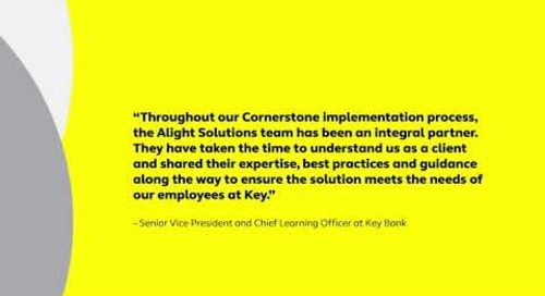 Customer testimonials Alight + Cornerstone
