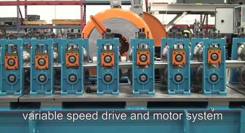 Samco Machinery Gutter Rollforming Line