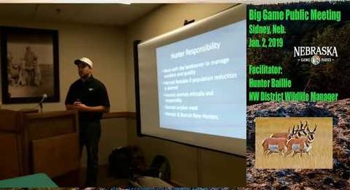 Nebraska Big Game Meeting Livestream