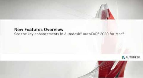 AutoCAD 2020 for Mac: new features | AutoCAD