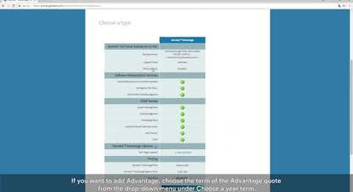 Genetec Portal tutorial video – How to create a quote and order