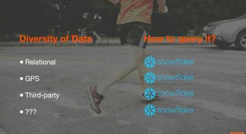 Snowflake Office Hours: Strava