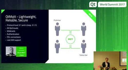 QtWS17 Qt for Automation, Lars König, The Qt Company