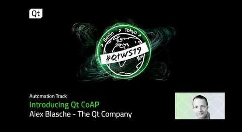 Qt CoAP - leveraging C++ and Qt for cross-platform CoAP IoT apps