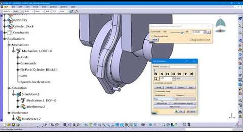 Detecting Clash in CATIA V5 Kinematic Simulations