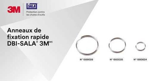 Préparer votre ancrage avec les Anneaux de fixation rapide DBI-SALA® 3M
