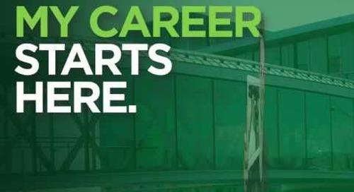 My Career Starts Here!