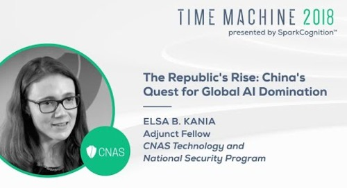The Republic's Rise: China's Quest for Global AI Domination- Time Machine 2018