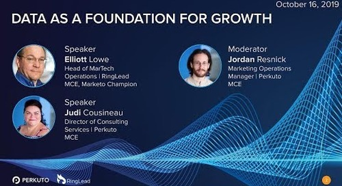 Data as a Foundation for Growth
