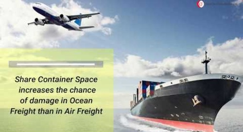 Air Freight Vs Ocean Freight | Ocean Care Forwarders