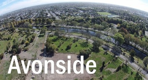 Avonside Then and Now - A Drone's Eye View