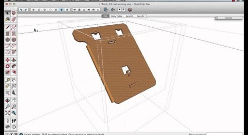 07. Restructure for 3D Warehouse content