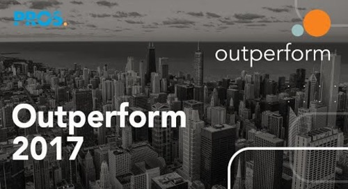 TAP Modern Commerce Transformation: Outperforming with PROS