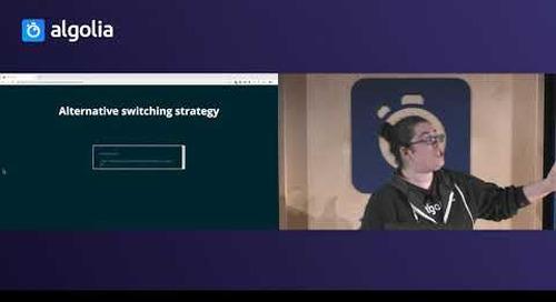 Building an interactive showcase with Vue.js & Vue InstantSearch - Sarah Dayan, Algolia