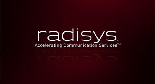 Radisys - Accelerating Communication Services