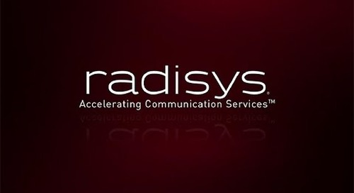 Radisys - Accelerating Communication Services