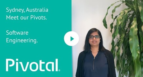 APJ - Sydney - Meet our Pivots: Software Engineering
