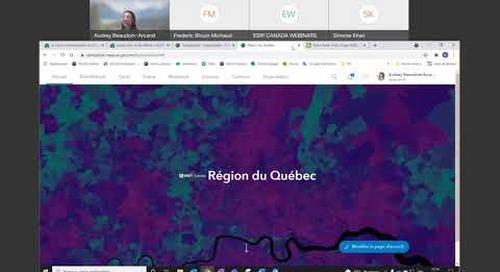 Exploitez au mieux ArcGISOnline à l'aide de la carte communautaire du Canada
