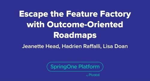 Escape the Feature Factory with Outcome-Oriented Roadmaps