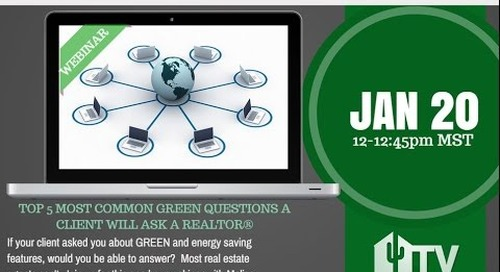 Top 5 Most Common Green Questions - 1.20.2015