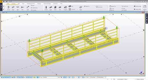 Working with Multi-level Assemblies in Tekla Structures