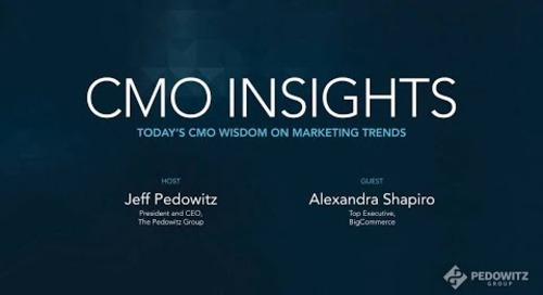 CMO Insights: Alexandra Shapiro, CMO