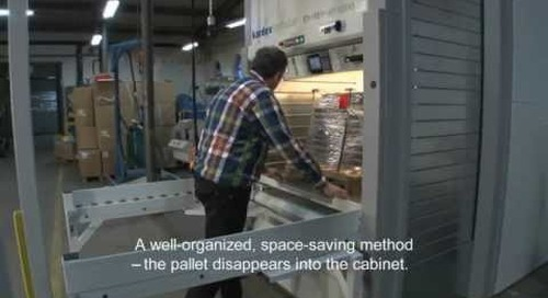Pallet Storage Shuttles | Vertical ASRS System for Storing Pallets at Point of Use