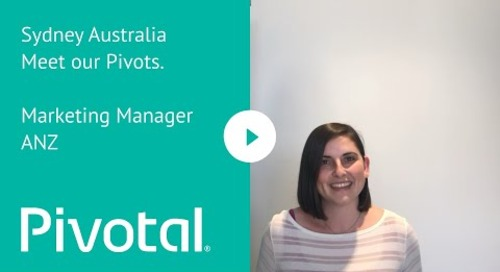 APJ - Sydney - Meet our Pivots: Marketing Manager