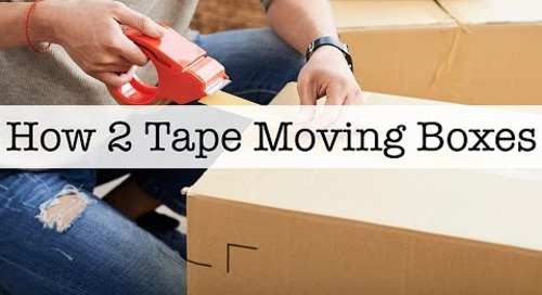 How 2 Tape Moving Boxes