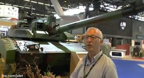 Eurosatory 2016: French Army Leclerc renovation
