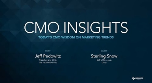 CMO Insights: Sterling Snow, SVP of Revenue, Divvy