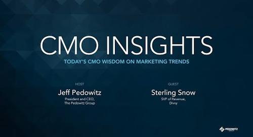 CMO Insights: Sterling Snow, SVP of Revenue, Divvy