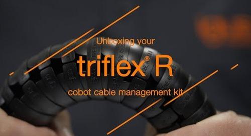 Unboxing your triflex® R cobot cable management kit