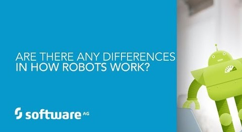 Episode 6: Are there any differences in how robots work?