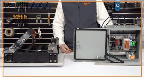 Demonstration of igus smart plastics EC.B and EC.P system