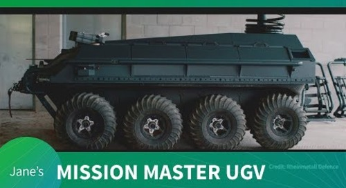 First look at Rheinmetall Canada's Mission Master UGV