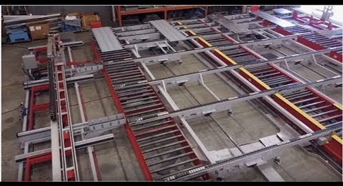 Samco Machinery introduces the Max Stacker Material Handling System