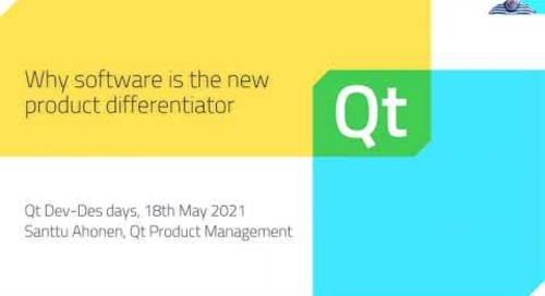 Why software is the new product differentiator  - Dev/Des 2021