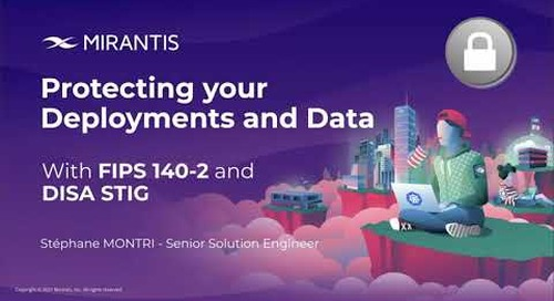Protecting your Deployments and Data with FIPS and DISA STIG [webinar]