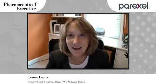 More RWE insights from Parexel, Video clip 3
