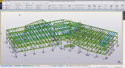 Tekla Structures Steel Estimating Workflows