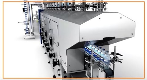 Can igus® products help label 50,000 bottles in one hour?