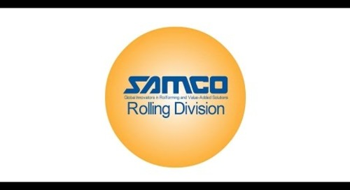 Samco Machinery's Rolling Division