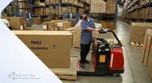 Warehouse Safety Tips - 2: Manage Pedestrian and Traffic Safety