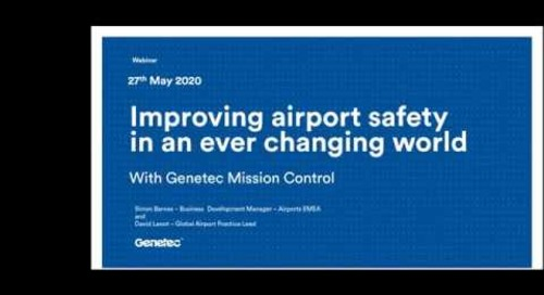 Mission Control Webinar: Improving Safety at Airports