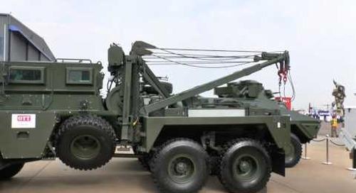 AAD 2016: OTT Technologies mine protected vehicles - M26 Puma - M36 - Ratel