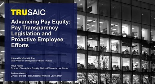 Advancing Pay Equity: Pay Transparency Legislation and Proactive Employee Efforts