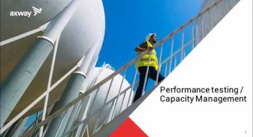 Capacity Management Part 1 | Performance and Resilience Testing